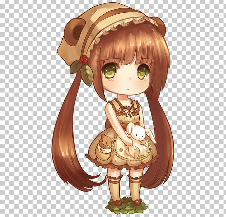 Chibi Drawing Anime Brown Hair Png Clipart Anime Anime