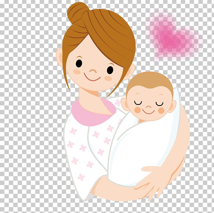 Infant Mother Cartoon Png Clipart Arm Babies Baby Baby Animals Baby Announcement Card Free Png Download