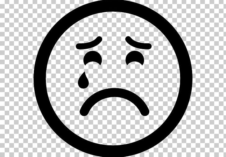 Emoticon Smiley Computer Icons Sadness PNG, Clipart, Area, Black And White, Circle, Clip Art, Computer Icons Free PNG Download