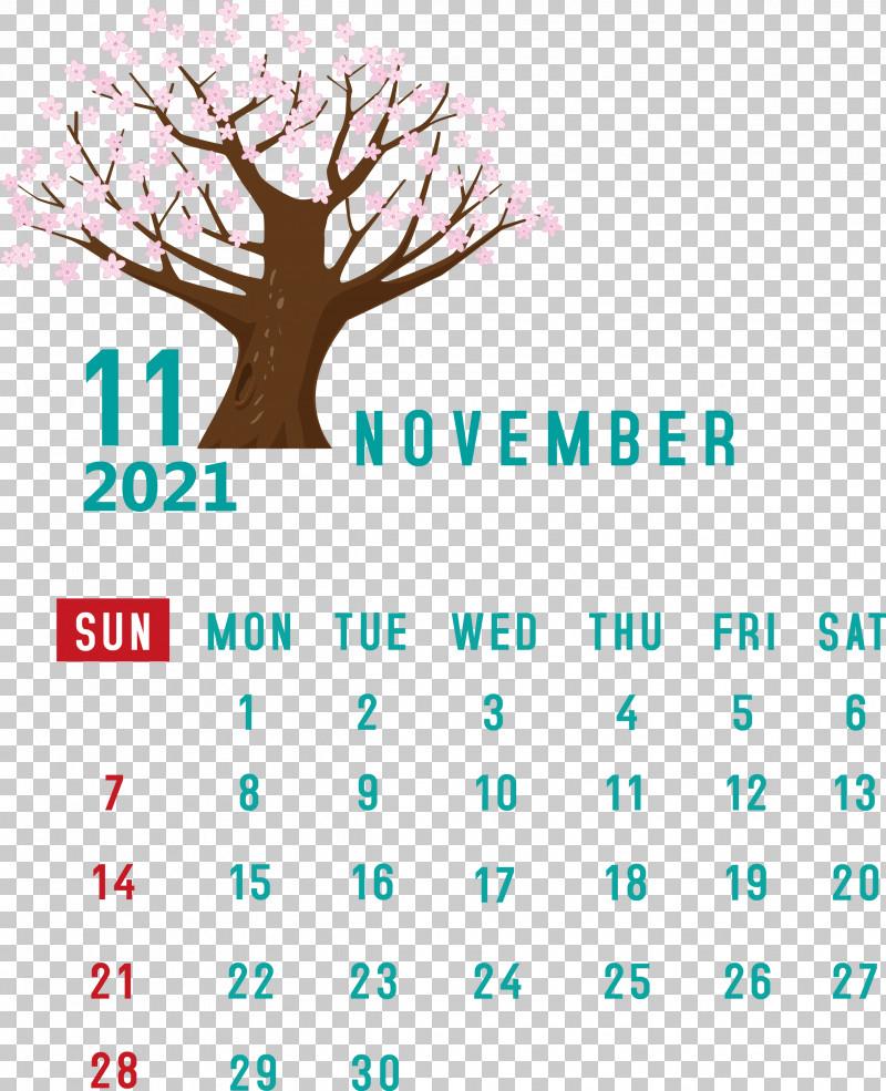 November 2021 Calendar November 2021 Printable Calendar PNG, Clipart, Calendar System, Line, Logo, Lunar Calendar, Meter Free PNG Download