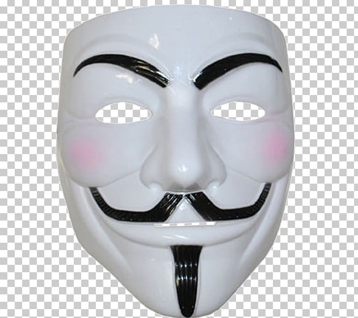 Guy Fawkes Mask Costume Anonymous V For Vendetta Png Clipart