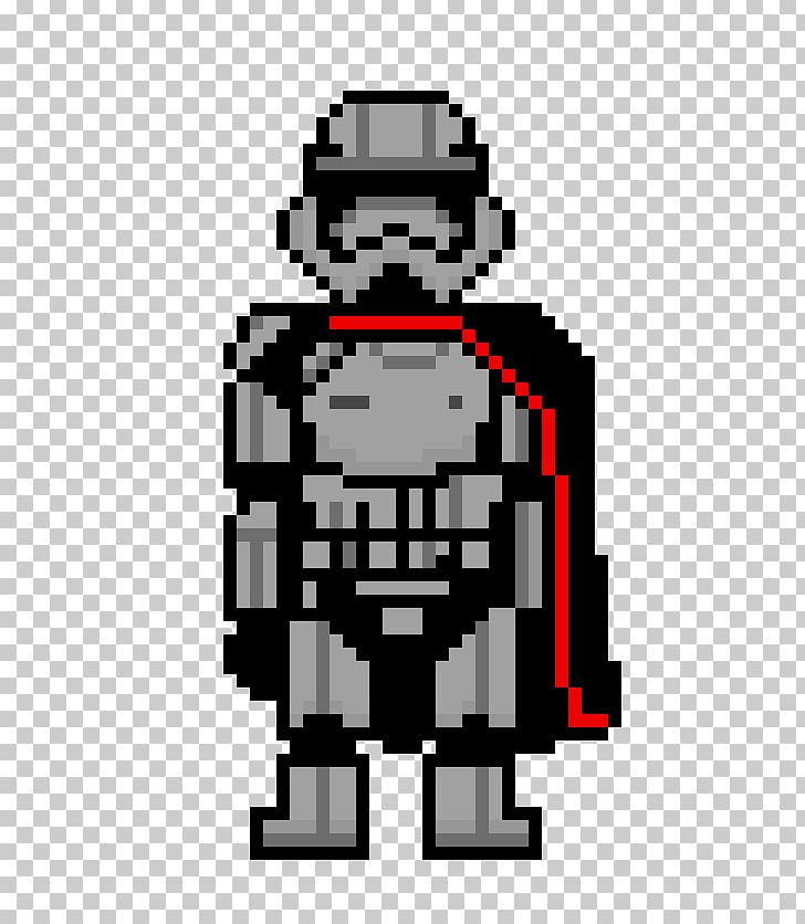 Captain Phasma Finn Pixel Art Star Wars Png Clipart Art