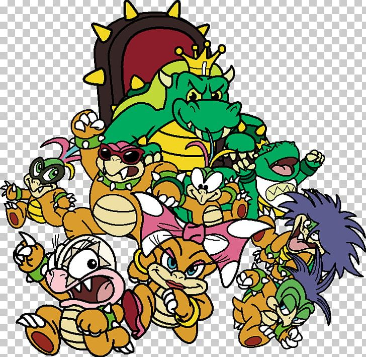 super mario bros 3 koopalings