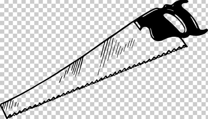 Crosscut Saw Hand Saws Drawing PNG, Clipart, Black, Black ...