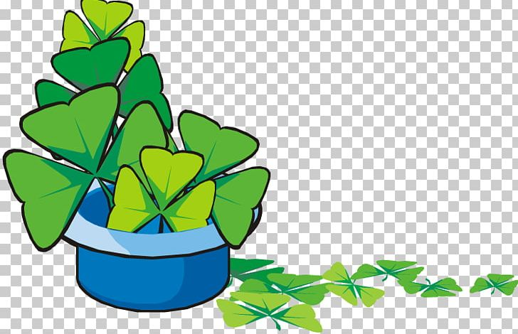 Shamrock Saint Patricks Day PNG, Clipart, Animation, Blue, Bowl, Clover, Flower Free PNG Download
