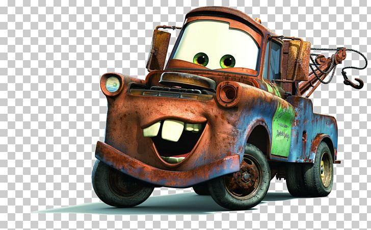 Mater Lightning Mcqueen Cars Cartoon Png Clipart Animated Cartoon