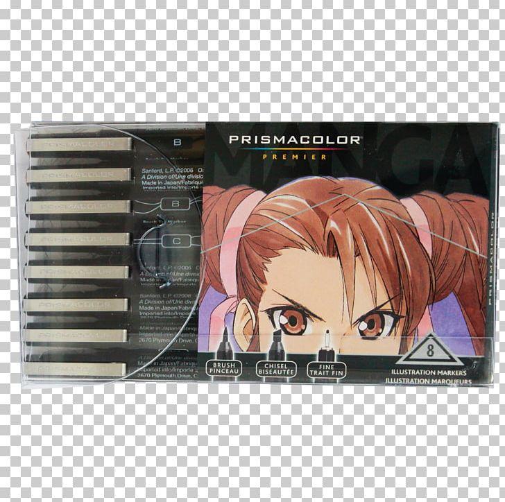 Prismacolor Marker Pen Drawing Manga Art PNG, Clipart, Anime ...