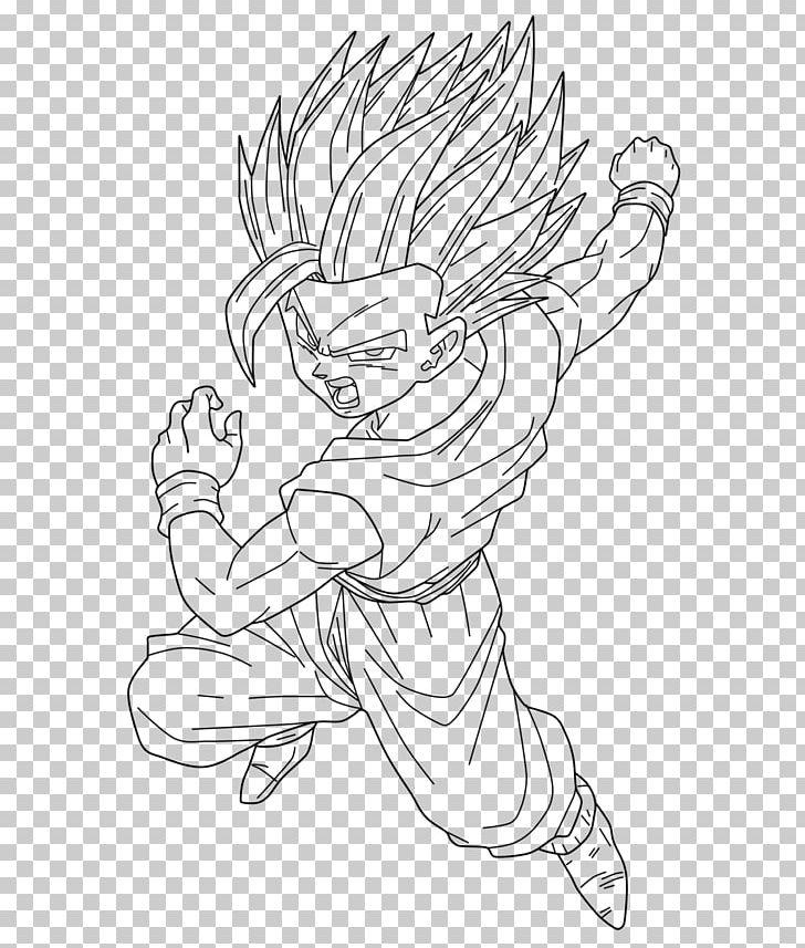Goku Vegeta Gohan Majin Buu Goten Png Clipart Angle Arm
