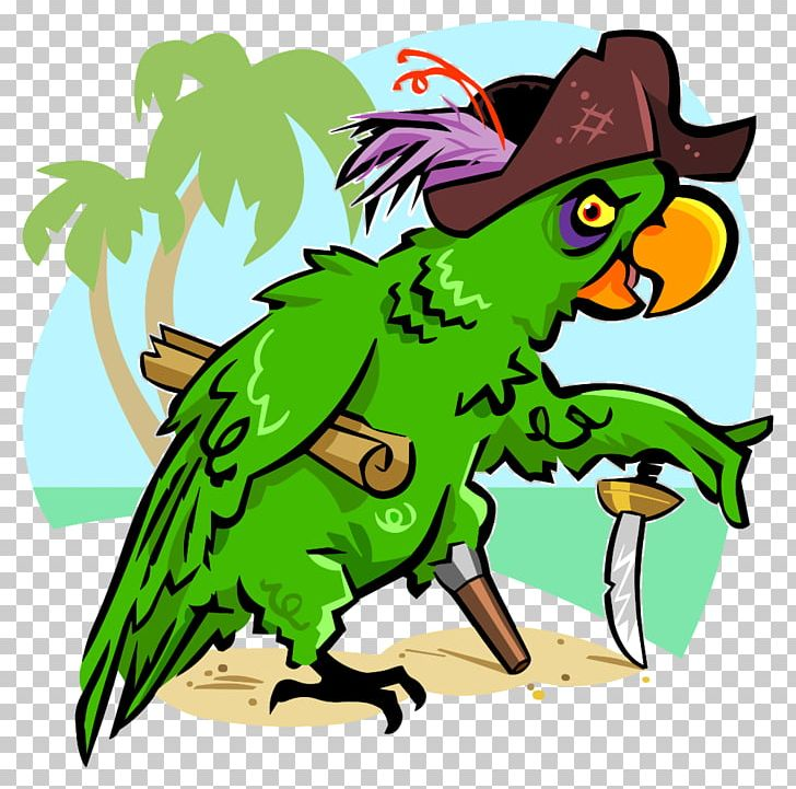 Piracy Pirate Parrot Art PNG, Clipart, Animals, Art, Artwork, Beak, Buried Treasure Free PNG Download