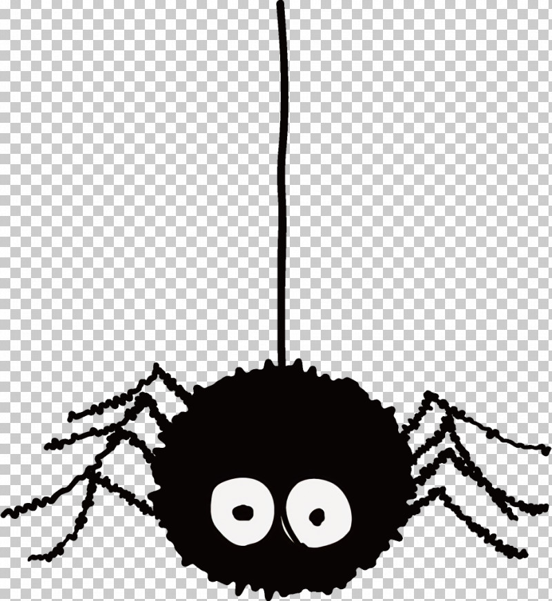 Spider Halloween PNG, Clipart, Cartoon, Drawing, Halloween, Line Art, Silhouette Free PNG Download