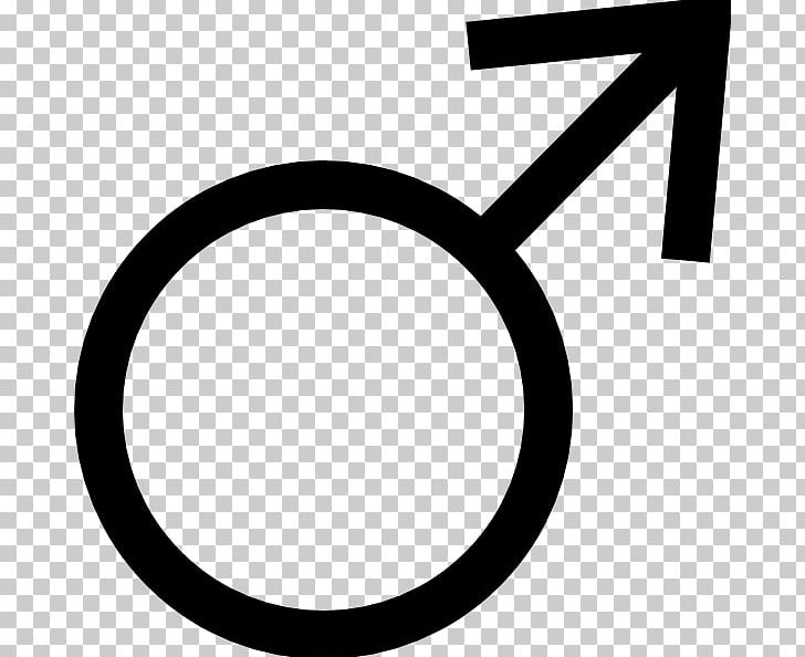 Gender Symbol Male PNG, Clipart, Area, Black And White, Brand, Circle, Download Free PNG Download