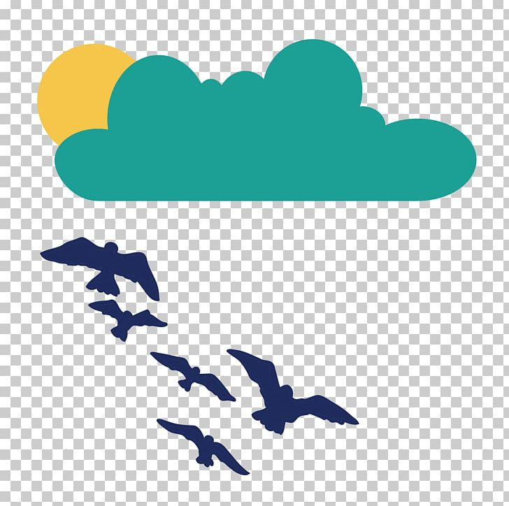 Clouds Sun Seagull Flying Birds PNG, Clipart, Area, Bird, Bird Cage