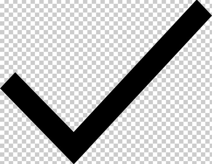 Check Mark Checkbox Computer Icons PNG, Clipart, Angle, At Sign, Black, Black And White, Brand Free PNG Download