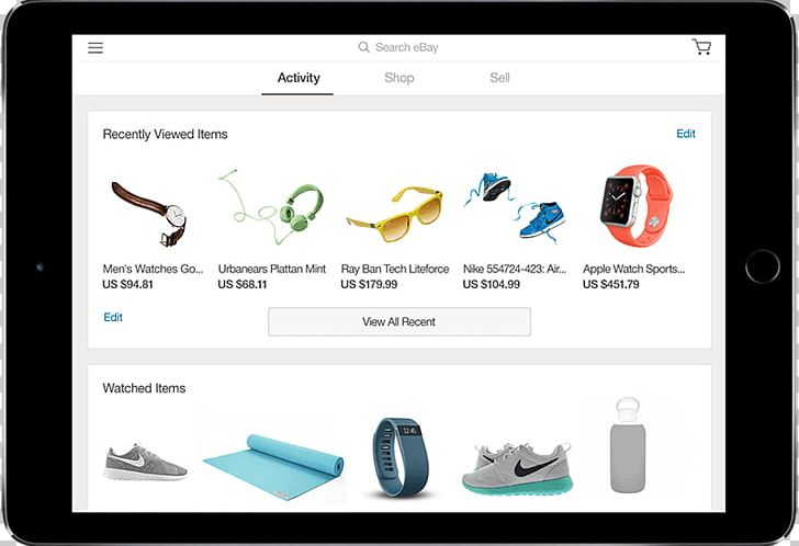 EBay Mobile App Online Shopping Android IOS PNG, Clipart