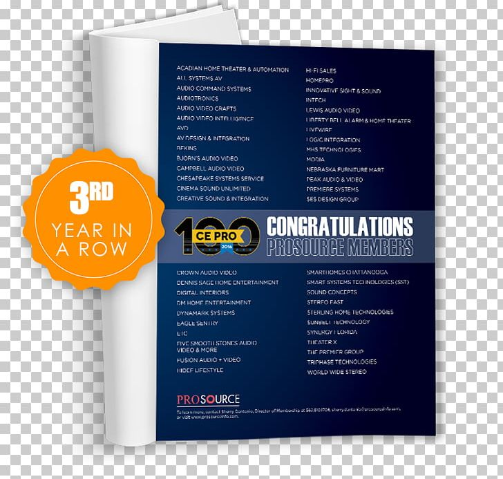 Brand Font Product Brochure Prosource PNG, Clipart, Brand, Brochure, Magazine Ads Free PNG Download