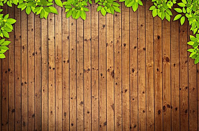 Green Leaf Frame Wood Background Png Clipart Art Board