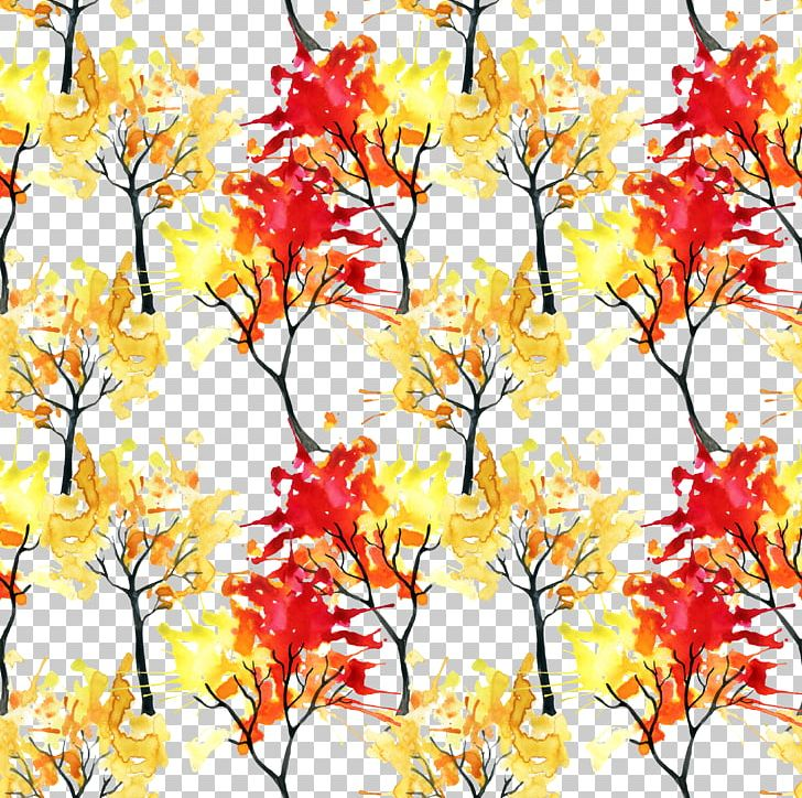 Watercolor Painting Autumn Illustration PNG, Clipart, Abstract, Autumn Leaves, Background, Branch, Family Tree Free PNG Download