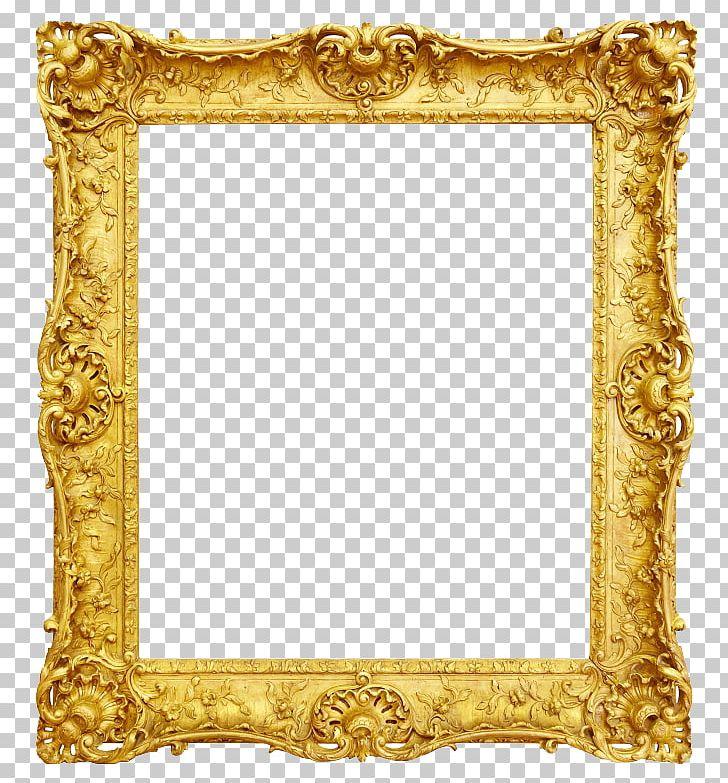 frame antique gold png  clipart  border  border frame
