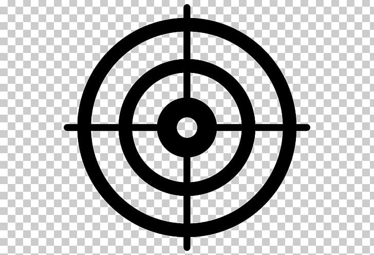 Shooting Target Bullseye PNG, Clipart, Angle, Area, Black, Black And White, Blog Free PNG Download