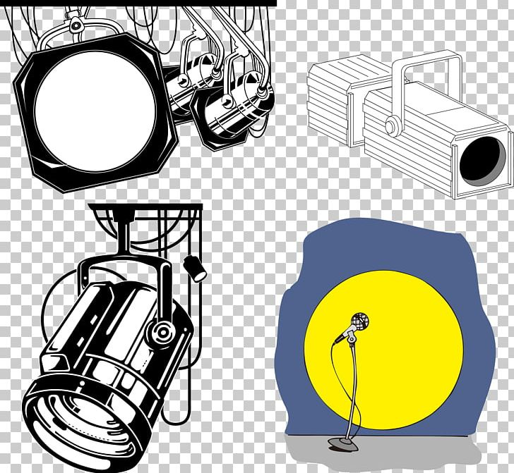 Stage Lighting Lamp PNG, Clipart, Angle, Art, Article, Cartoon, Christmas Lights Free PNG Download