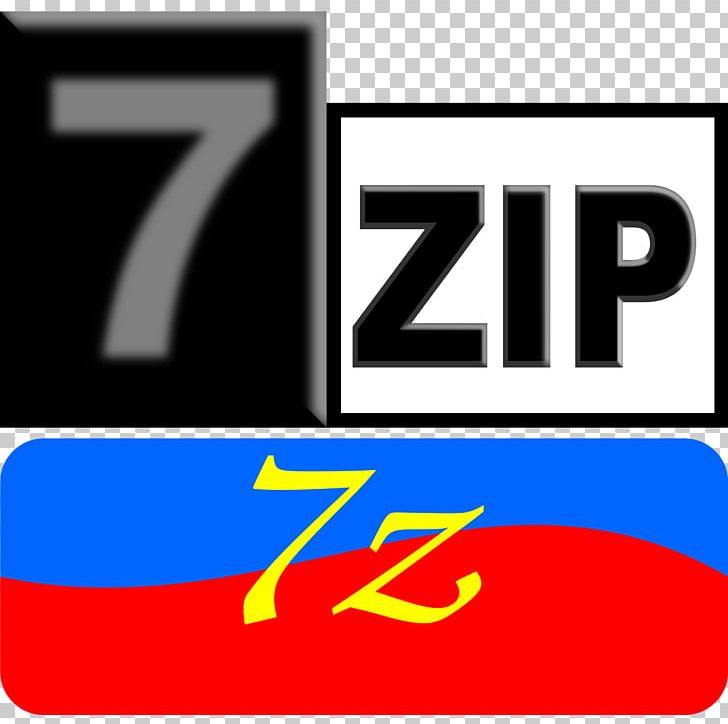 7-Zip 7z File Archiver PNG, Clipart, 7 Z, 7zip, Area, Brand