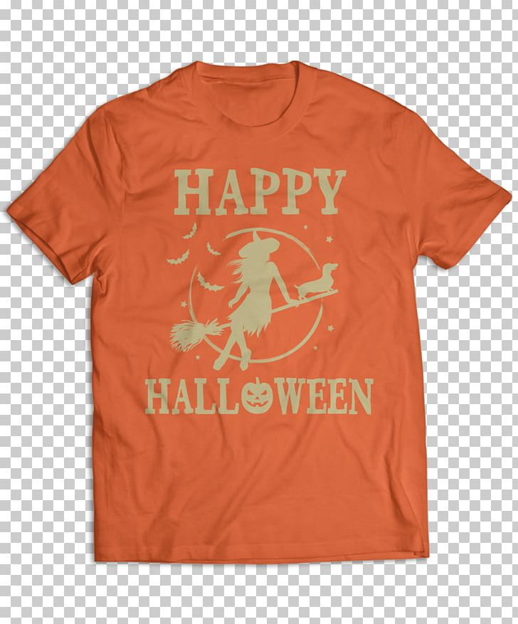T-shirt Orange Sleeve Child PNG, Clipart, Active Shirt, Brand, Child, Clothing, Dachshund Halloween Free PNG Download