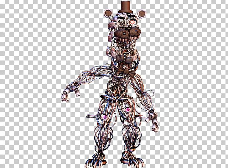 Five Nights At Freddy's Three-dimensional Space Paper Model