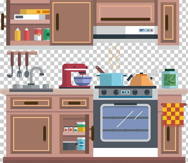 Concept Drawing Kitchen Cabinet: Kitchen Cabinet Kitchenware Cartoon PNG, Clipart, Cartoon