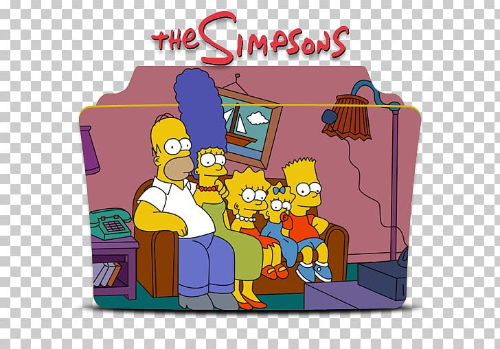 Homer Simpson Bart Simpson Couch Television Living Room PNG ...