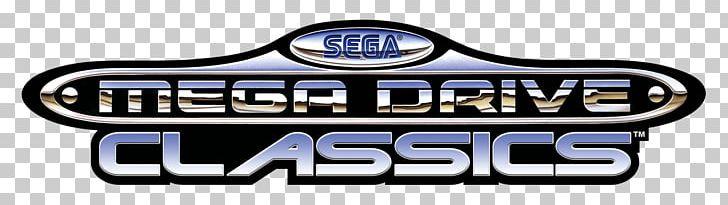 Sega Genesis Classics Mega Drive Logo Font Png Clipart Brand Irregular Text Box Logo Mega Drive