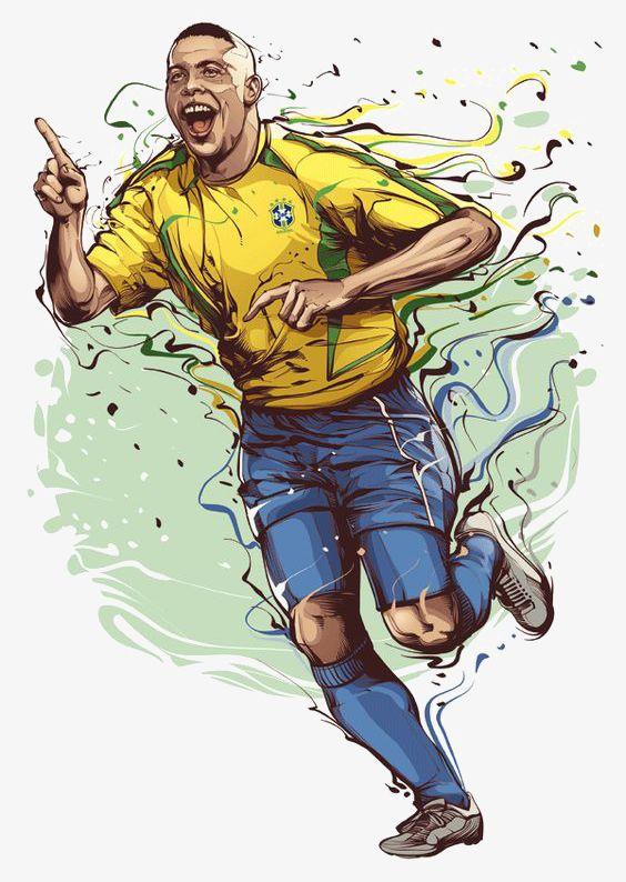 Football Stars PNG, Clipart, Brazil, Cartoon, Cartoon Football Player, Football, Football Clipart Free PNG Download