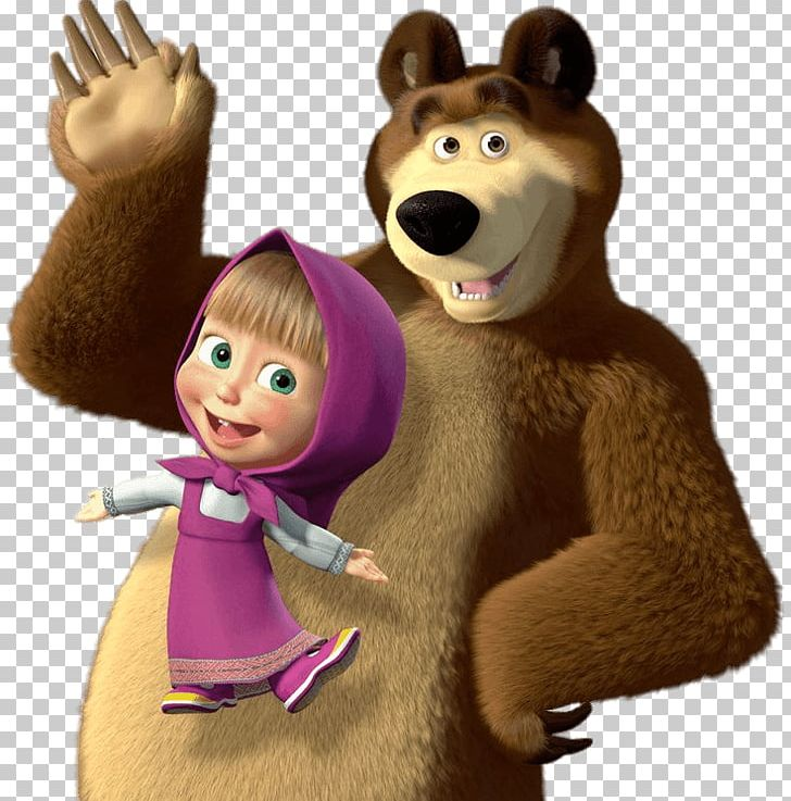 Masha And The Bear Png Clipart Animals Animation Bear