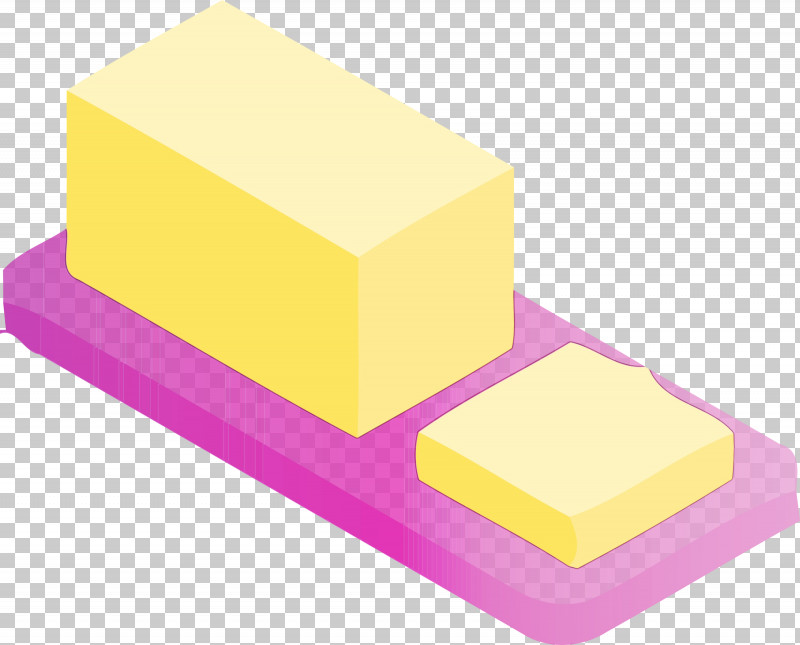 Yellow Rectangle PNG, Clipart, Butter, Food, Paint, Rectangle, Watercolor Free PNG Download