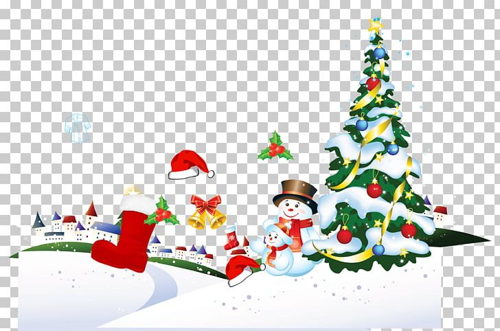 Santa Claus Christmas Tree Gift Poster PNG, Clipart, Christmas Background, Christmas Decoration, Christmas Frame, Christmas Lights, Decor Free PNG Download