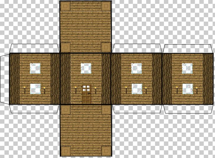 Minecraft: Pocket Edition Paper Model House PNG, Clipart