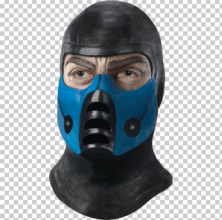 Sub Zero Mortal Kombat X Scorpion Mask Halloween Costume Png