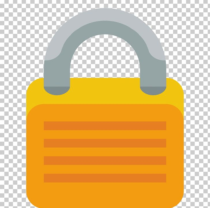 Lock Material Hardware Accessory Yellow PNG, Clipart, Accessory, Application, Computer Icons, Download, Hardware Free PNG Download