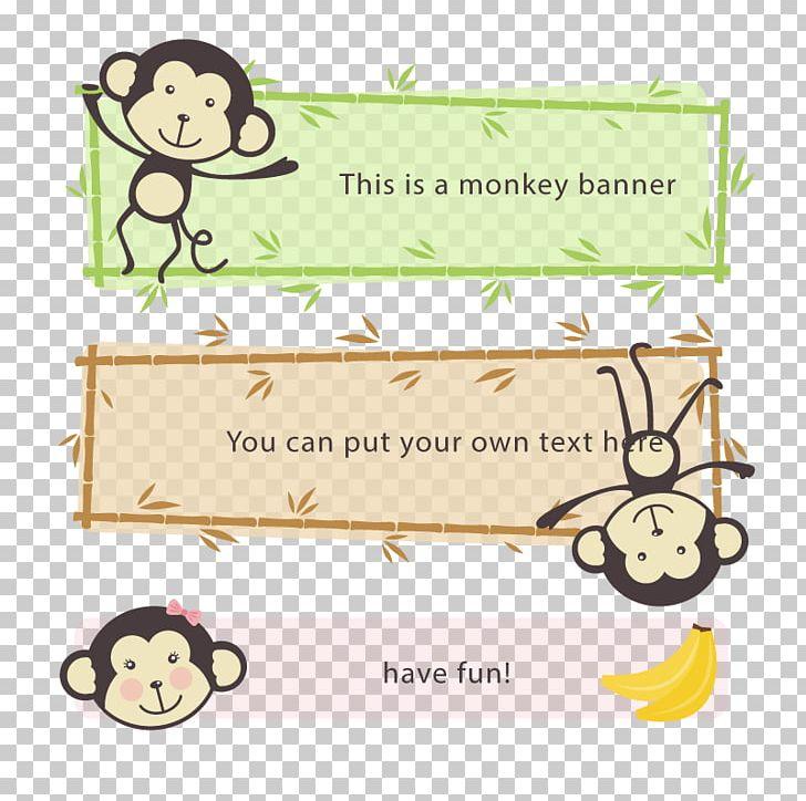 Cartoon Banner PNG, Clipart, Adobe Illustrator, Animal