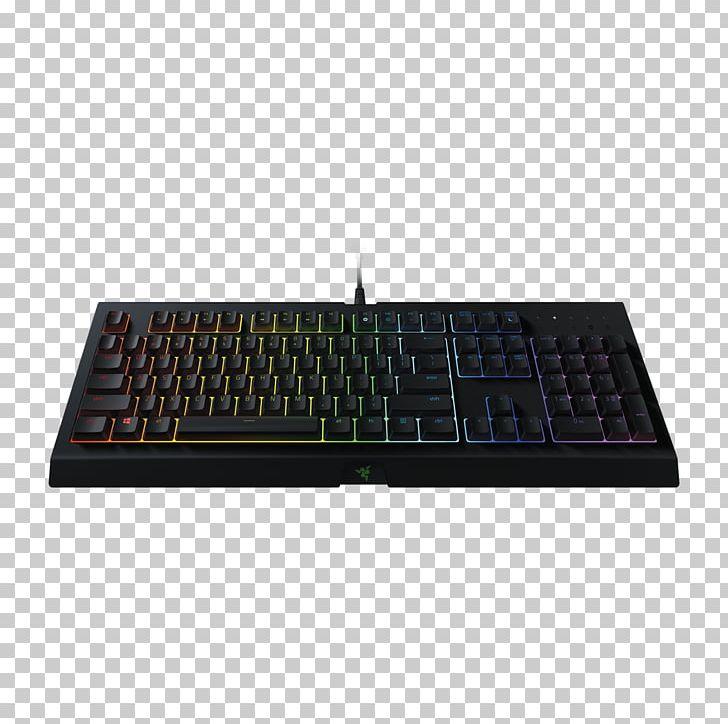 Computer Keyboard Razer BlackWidow Chroma V2 Gaming Keypad