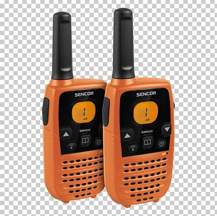 Sencor SMR 600 TWIN Walkie-talkies Two-way Radio PMR446 PNG, Clipart, 70centimeter Band, Bandes Marines, Communication, Communication Device, Electronic Device Free PNG Download