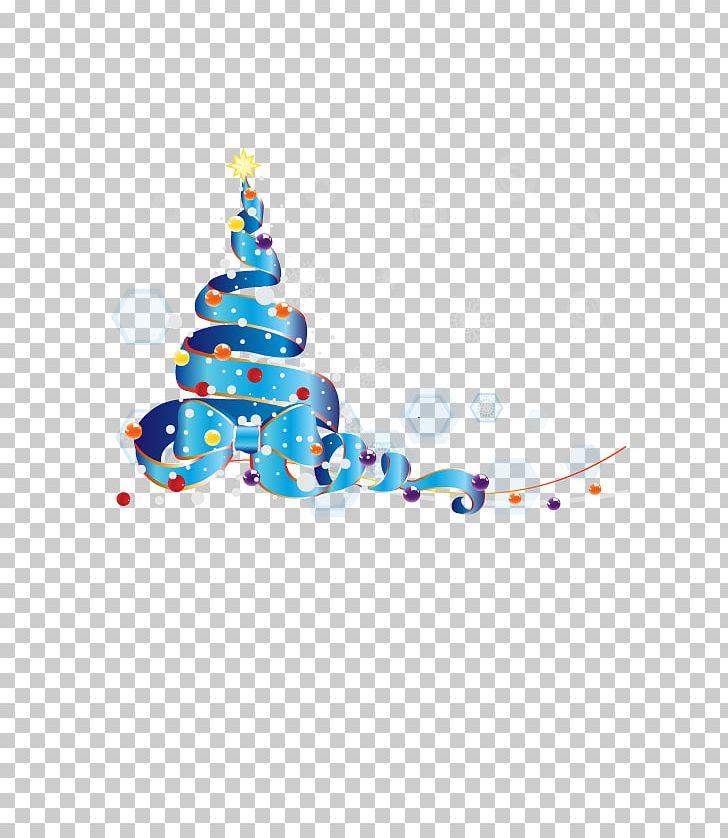 Christmas tree ribbon. Png clipart beautiful vector
