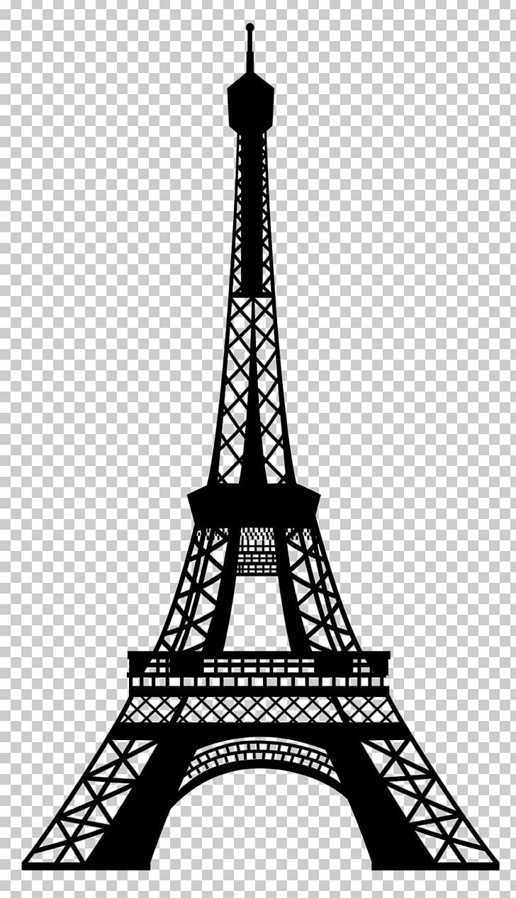 Eiffel Tower Png Clipart Black And White Clip Art Decal Drawing Eiffel Tower Free Png Download
