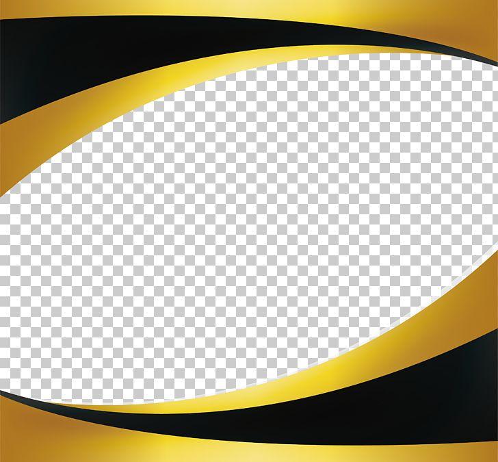 Gold PNG, Clipart, Angle, Big Waves, Black Gold Border