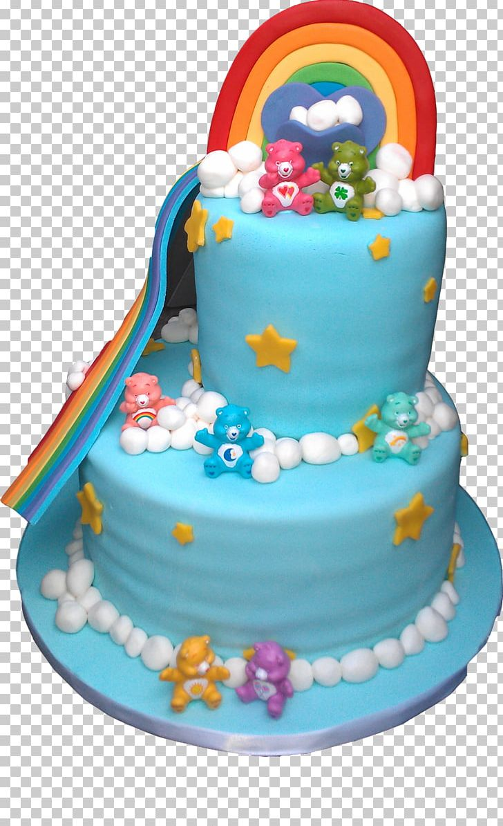 Marvelous Birthday Cake Care Bears Frosting Icing Torte Png Clipart Funny Birthday Cards Online Alyptdamsfinfo