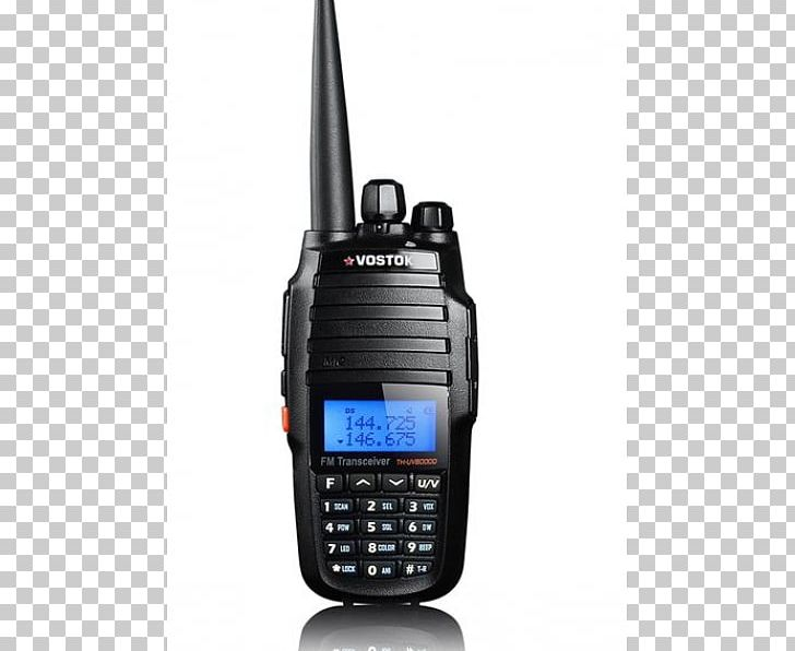 Walkie-talkie Two-way Radio Very High Frequency Tytera MD-380 PNG, Clipart, Amateur Radio, Dig, Dual, Electronic Device, Electronics Free PNG Download