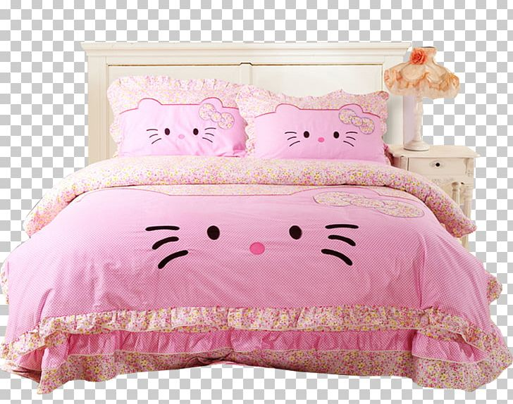 Verrassend Hello Kitty Bed Sheet Bedding Bedroom Comforter PNG, Clipart, Bed YY-52