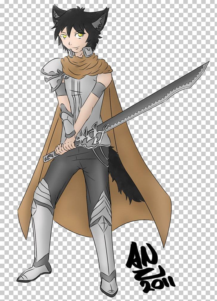 Anime Boy Dagger Concept Art