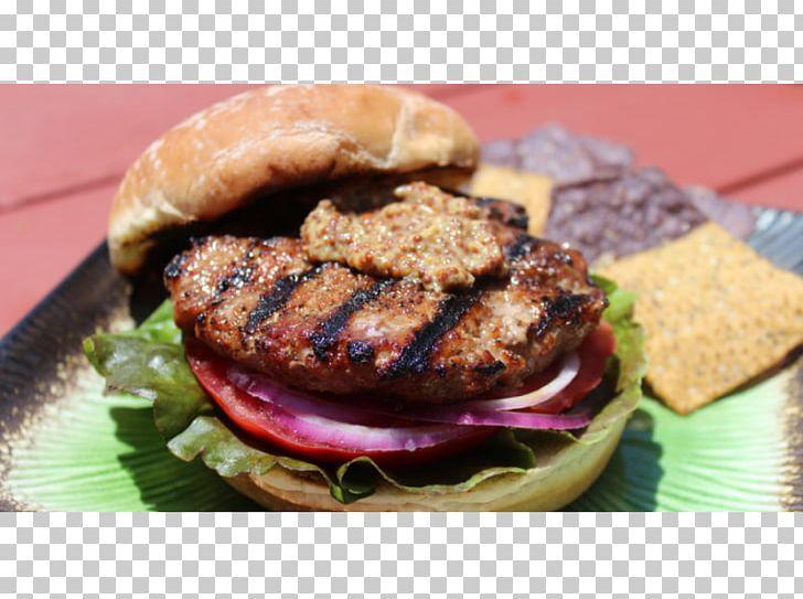 Patty Buffalo Burger Veggie Burger Hamburger Fast Food PNG