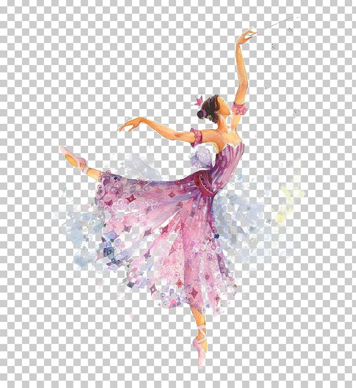 The Sleeping Beauty Ballet Dancer Dance Costume Watercolor Painting PNG, Clipart, Art, Baby Girl, Bal, Cartoon, Costume Free PNG Download