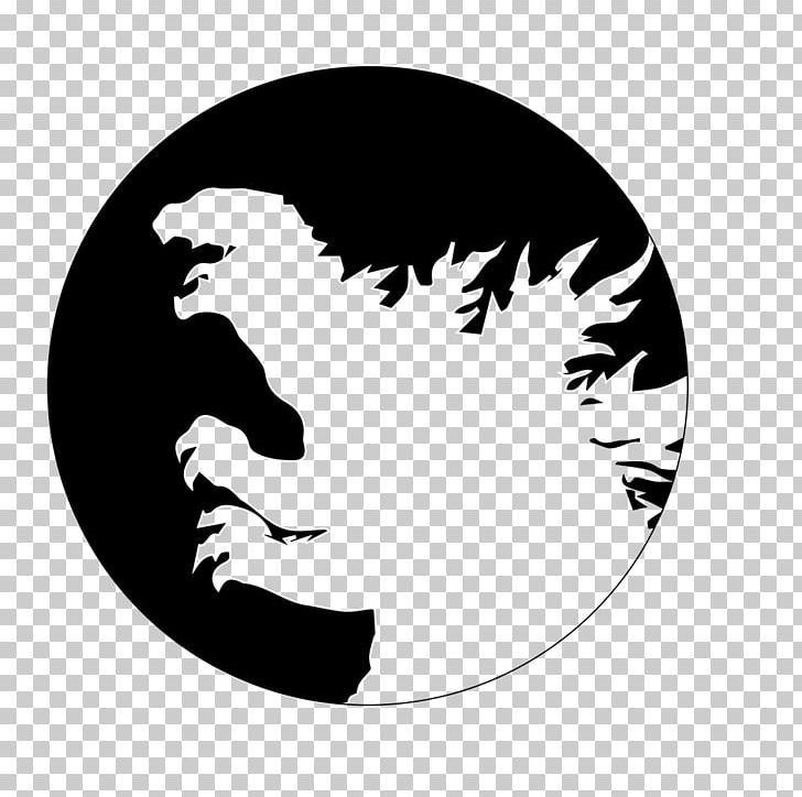 Godzilla Minimalism Film Poster Png Clipart Art Black Black And White Canvas Canvas Print Free Png